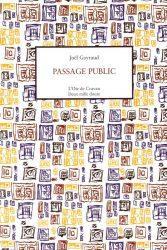 PASSAGE PUBLIC