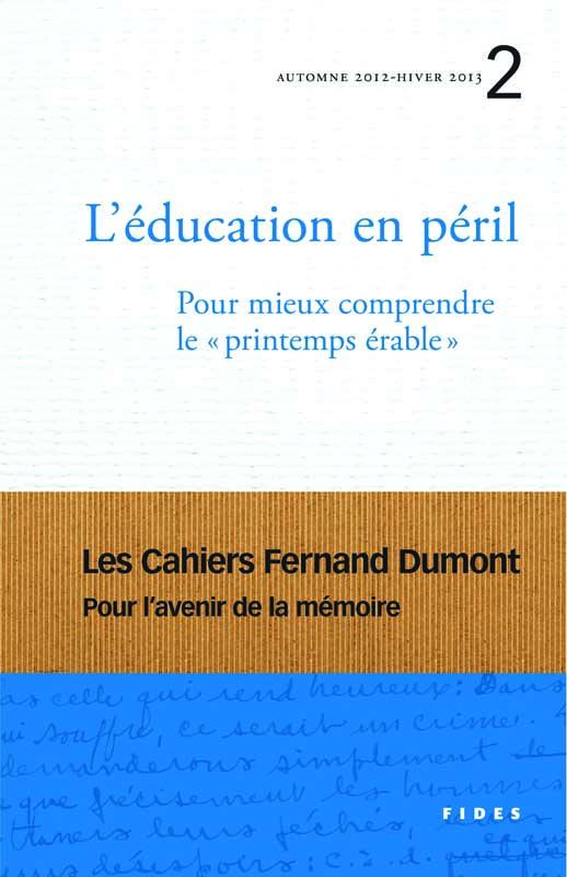 L'éducation en péril