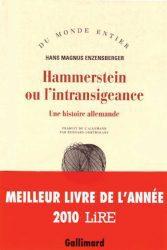 HAMMERSTEIN OU L'INTRANSIGEANCE