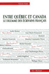 Entre le Québec et le Canada