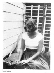 Sylvia Plath à Wellesley en 1953